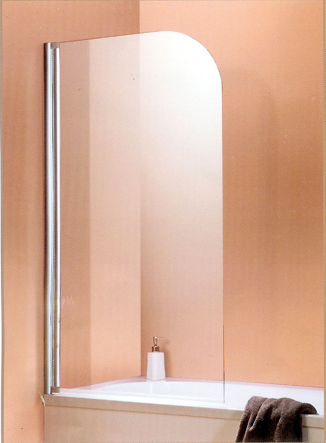 schulte badewannenaufsatz komfort rahmenlos 2 teilig 6 mm echtglas garant d853 ebay. Black Bedroom Furniture Sets. Home Design Ideas