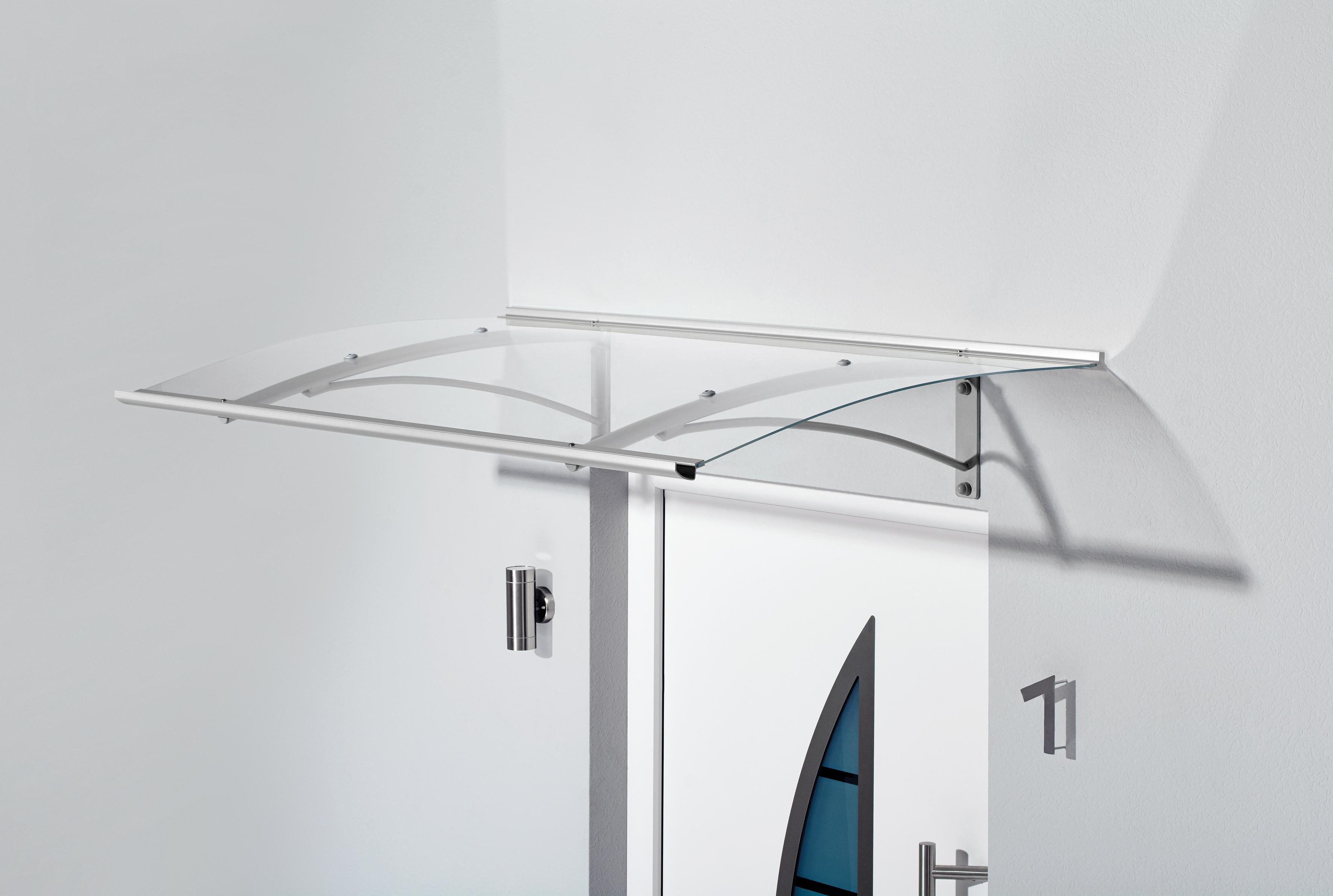 gutta haust r vordach pultvordach typ pt g 160x90x30 cm gebogen acryl klar ebay. Black Bedroom Furniture Sets. Home Design Ideas
